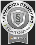 Seal Auftragsdatenverarbeitung mit Klick-Tipp