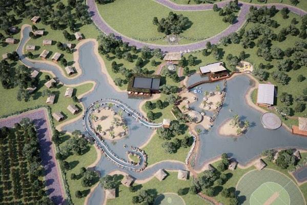 3D-Ansicht-Luftbild-Lagune-3