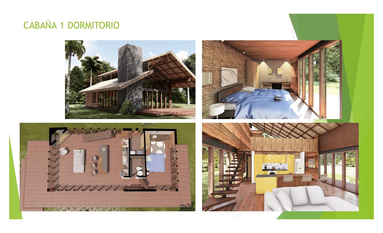 Portfolio Blockhaus Modell 1 EcoVita Country Club Nueva Italia