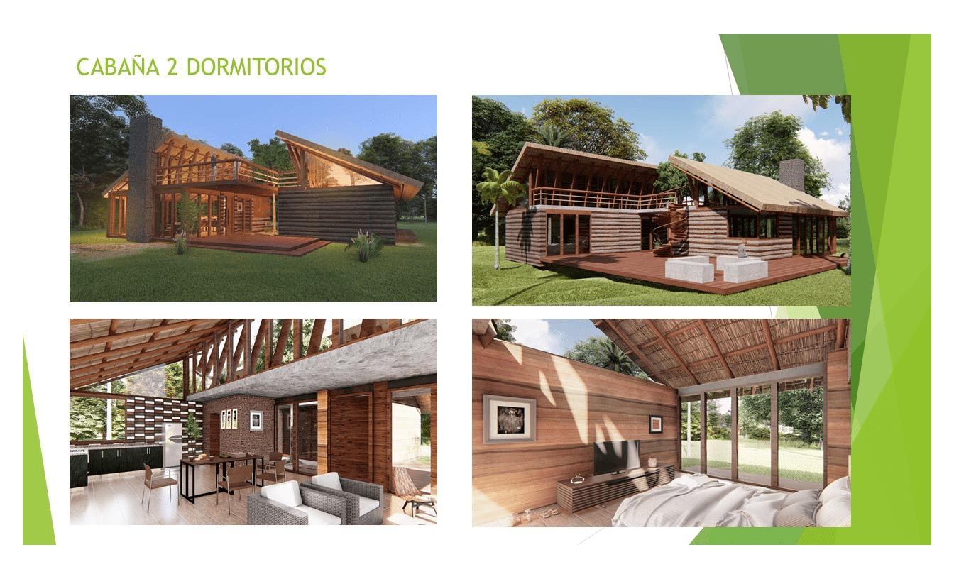 Portfolio Blockhaus Modell 2 EcoVita Country Club Nueva Italia