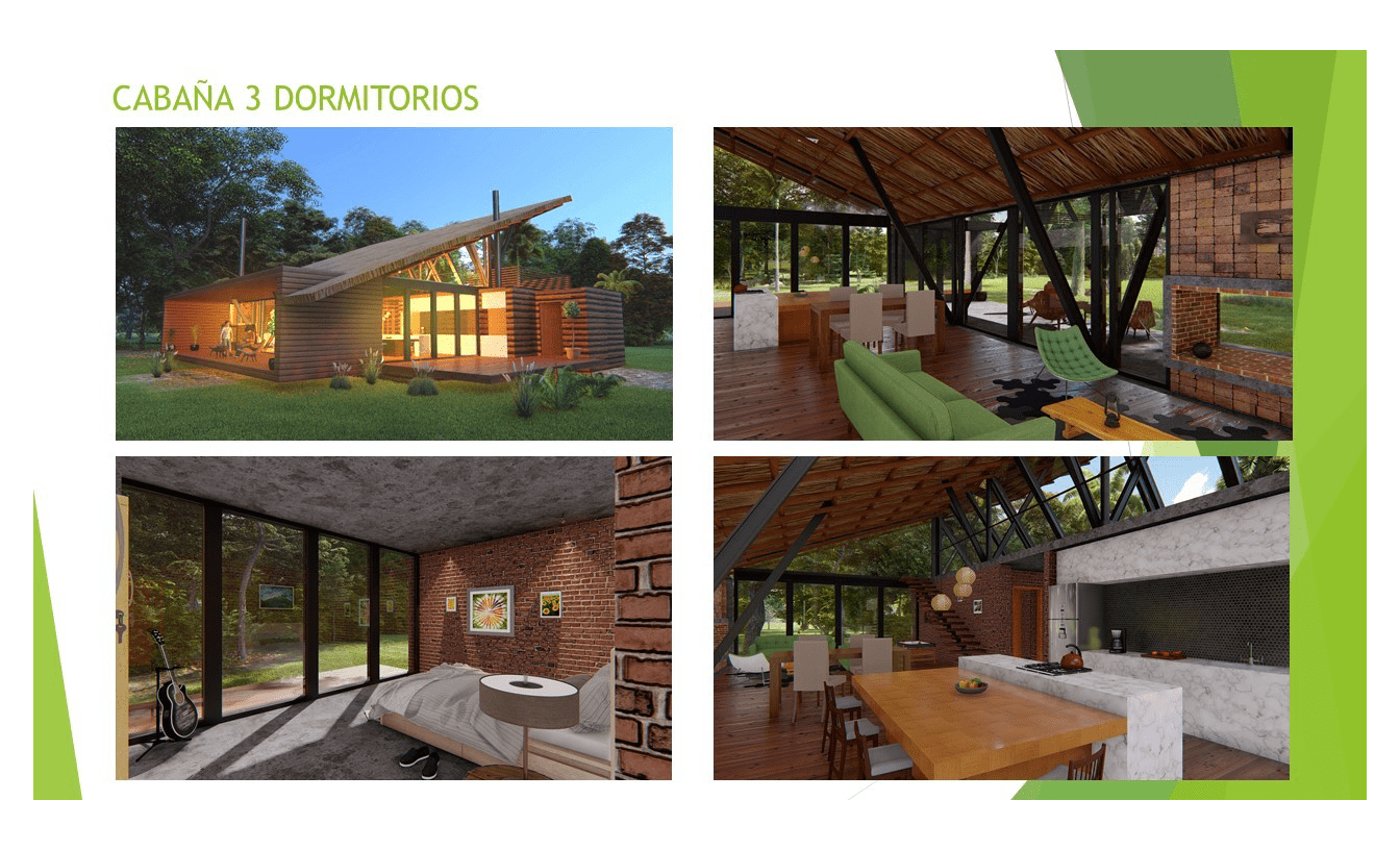 Portfolio Blockhaus Modell 3 EcoVita Country Club Nueva Italia
